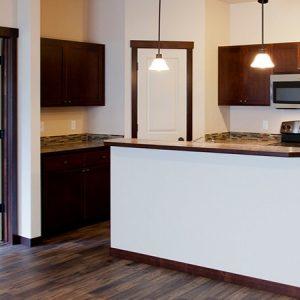 Model Unit Kitchen Area